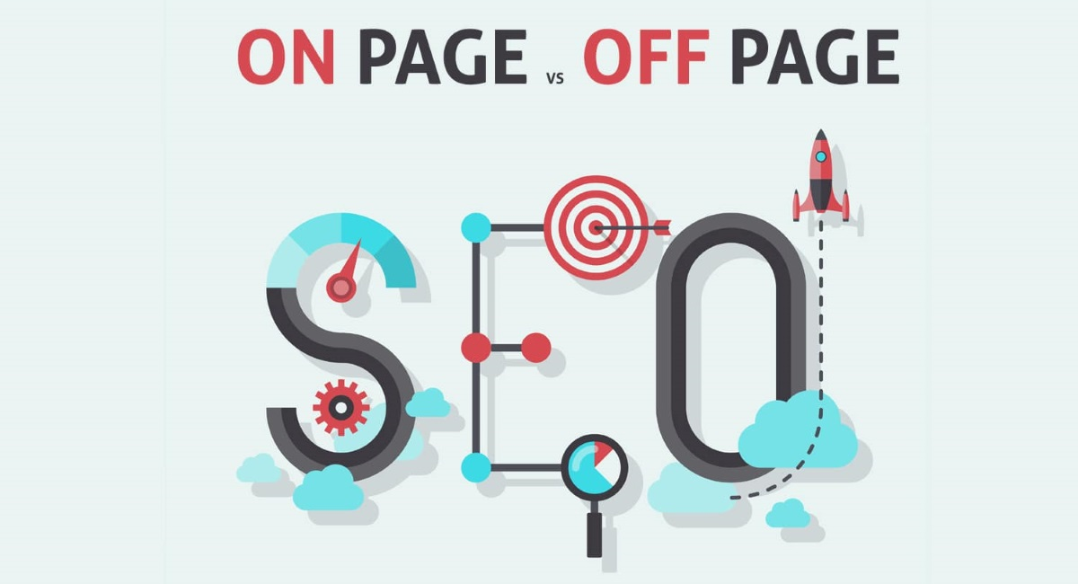 on page seo, off page seo, difference between on page seo and off page seo